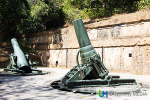 Battery Way is an assemblage of one of Corregidor Islands's big guns