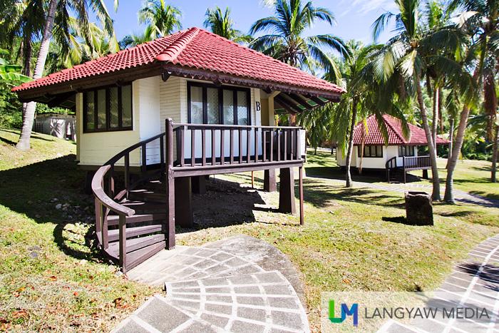 Well appointed hexagonal cabanas at Corregidor's Resort Beach