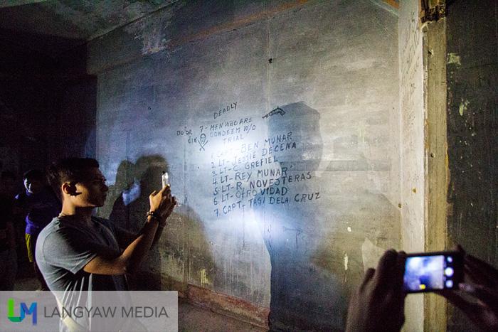 Visitors learning about the infamous Jabidah massacre