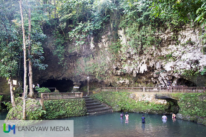 Suhot Cave and the natural spring in Dumalag, Capiz