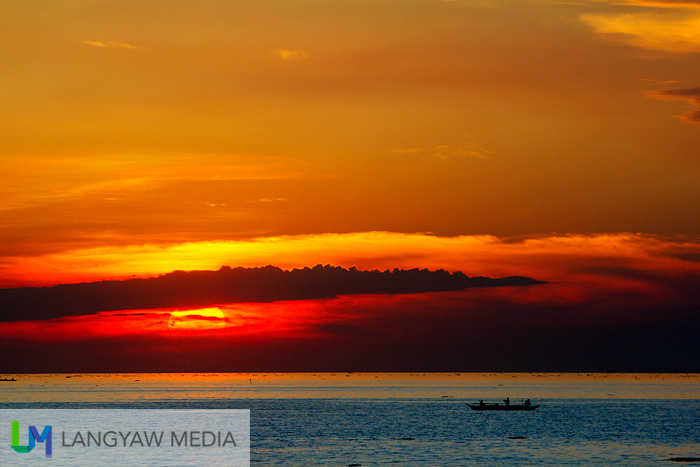 The famous Manila Bay sunset is just spectacular