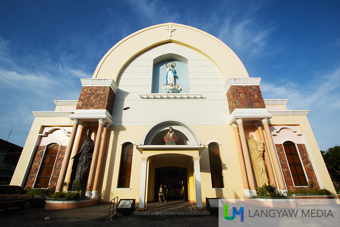 The Ozamiz City Cathedral known for its pipe organ