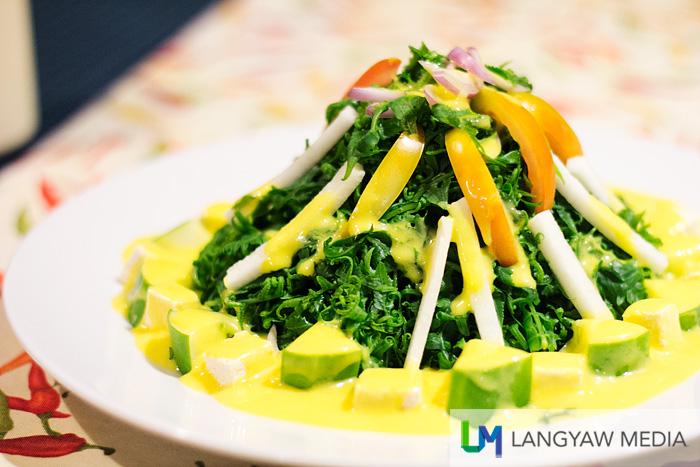 Pako salad is refreshing and tastes delicious