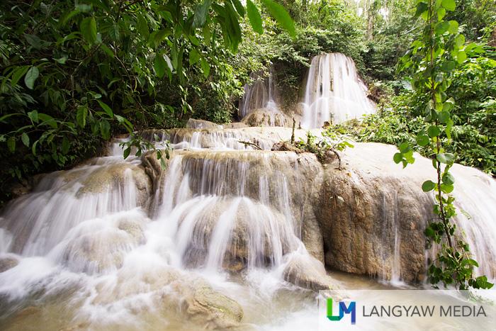 The multilevel Engkanto Falls is just stunning!
