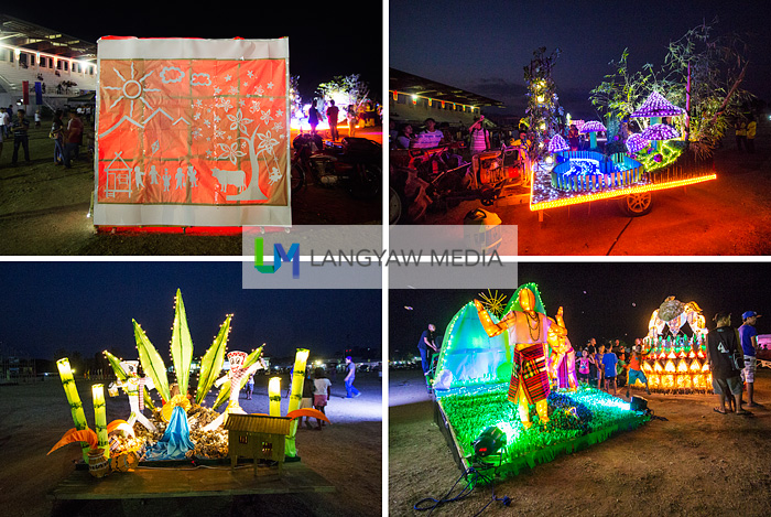 Other float entries from different municipalities for the Silnag
