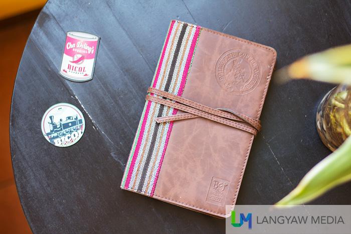 Simple yet elegant Origins Travel Journal