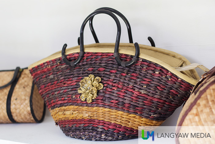 Stylish bags made from the same material