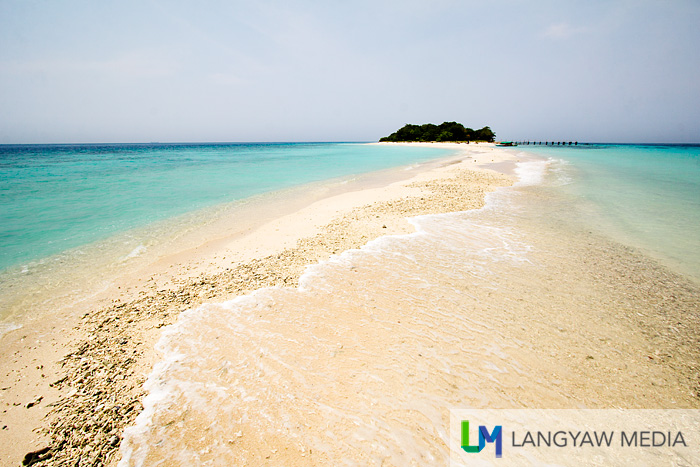 The less visited Little Sta. Cruz Island off Zamboanga City, just near the bigger Sta. Cruz Island famous for its 'pink' sand
