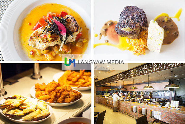 You can have your choice of ala carte meals or try the extensive selections at the buffet