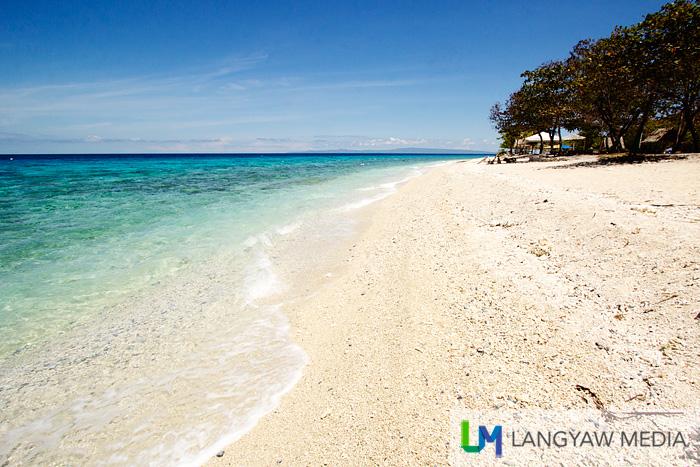 Such an inviting beach
