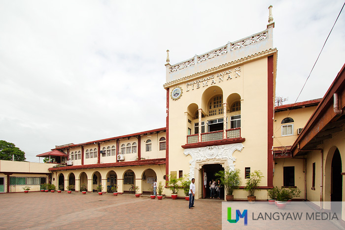 The early 19th century municipal hall of Libmanan