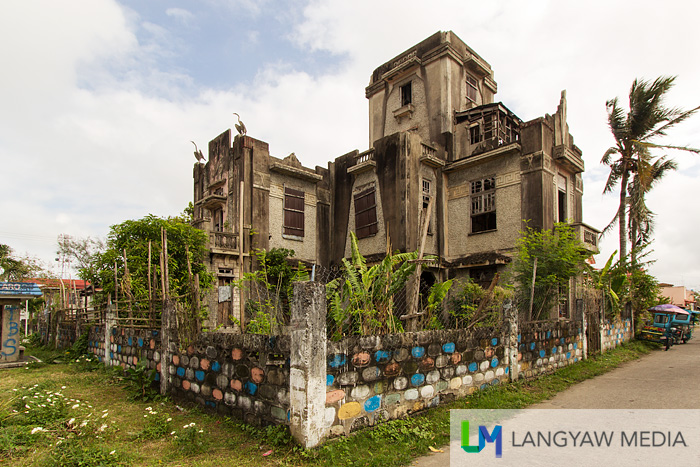 A rare and beautiful but already abandoned art deco house called the Morales Ruins built in 1937 purportedly designed by a National Artist for Architecture