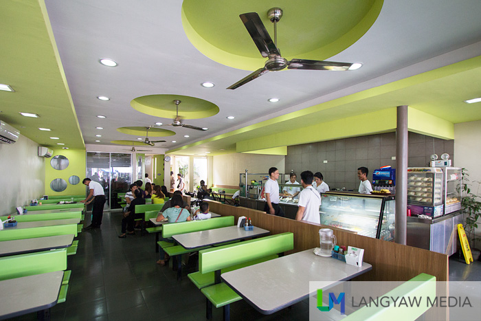 Interior of Naga Garden Restaurant