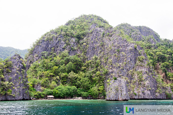 Just one of the stunning views around Coron's many islets and islands