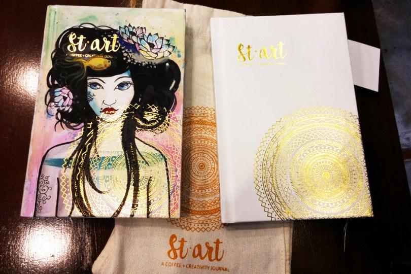 Start: Coffee + Creativity Journal
