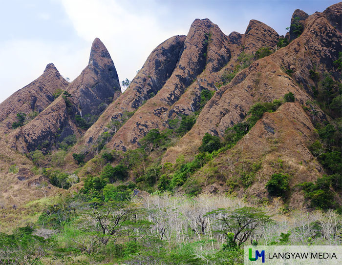 Jagged Hagdanan Peak in San Jose, Mindoro Occidental