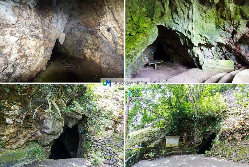 View of Luyang cave from outside and inside
