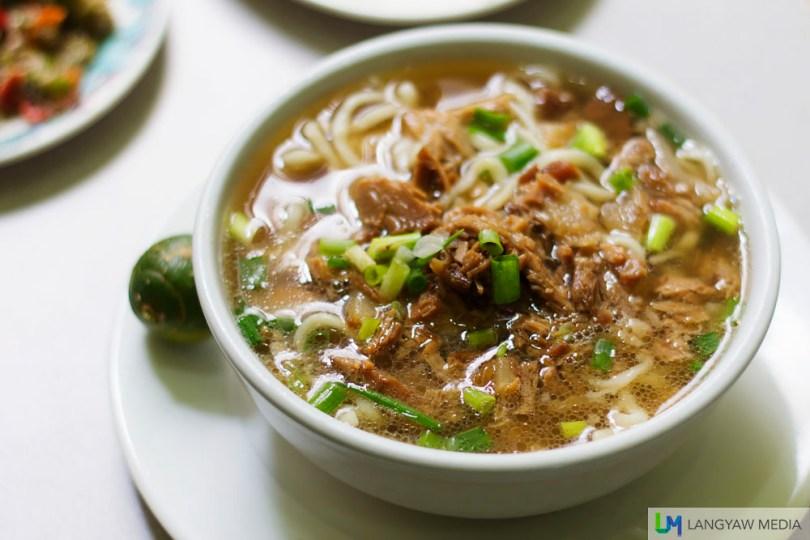 Beef mami (Naga Garden Restuarant)
