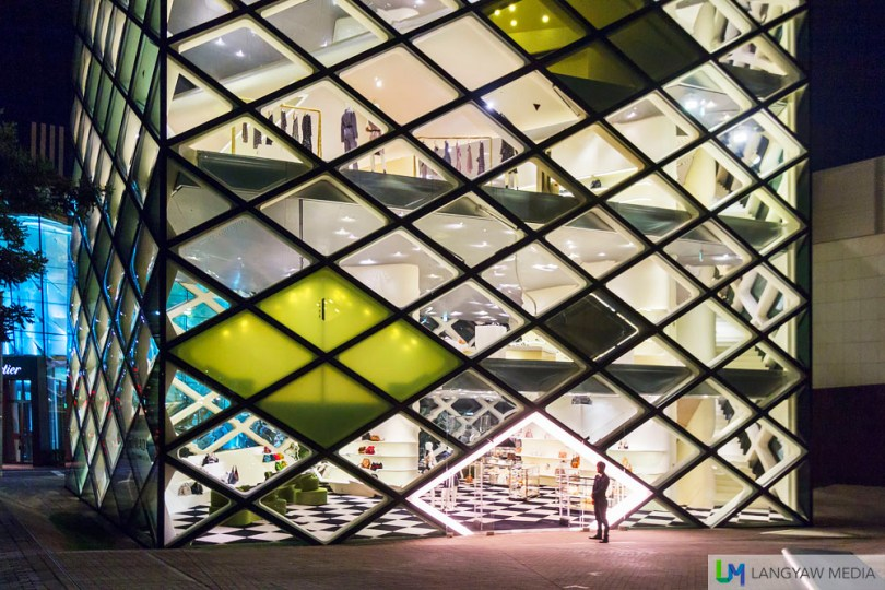 The stunning Prada flagship store in Aoyama designed by Herzog & de Meuron
