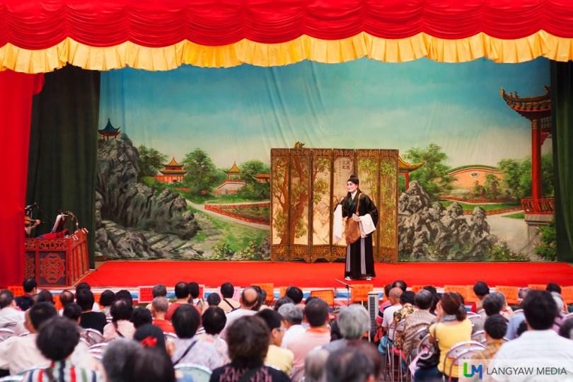 Chinese opera performance