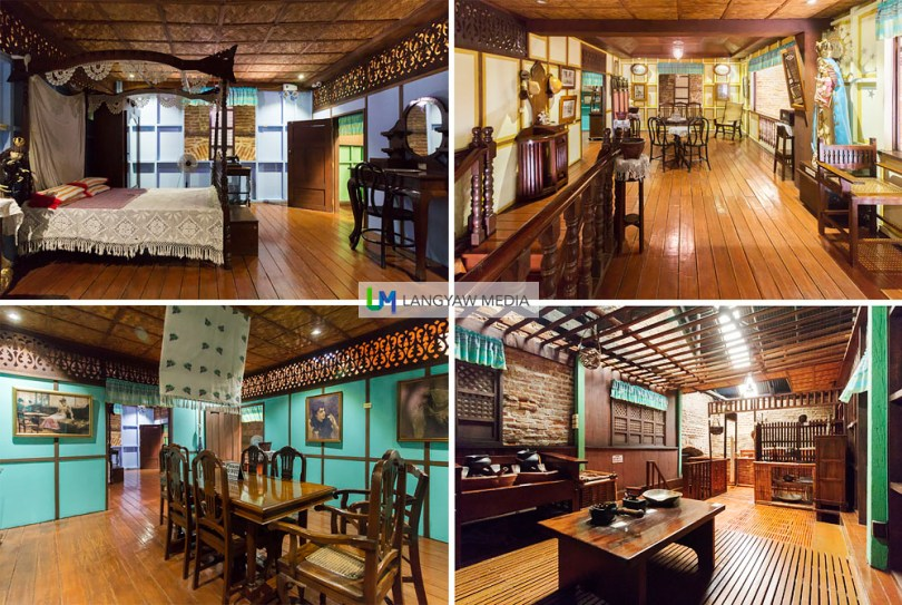 A replica of a traditional Ilocano home is even exhibited complete with living space, dining room, kitchen and the bedroom. It's a glimpse of the Ilocano way of life best shown through an actual home setup.