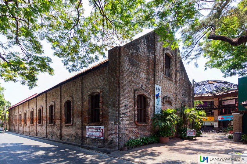 The old tabacalera warehouse during the Spanish colonial period has been transformed into the Museo Ilocos Norte