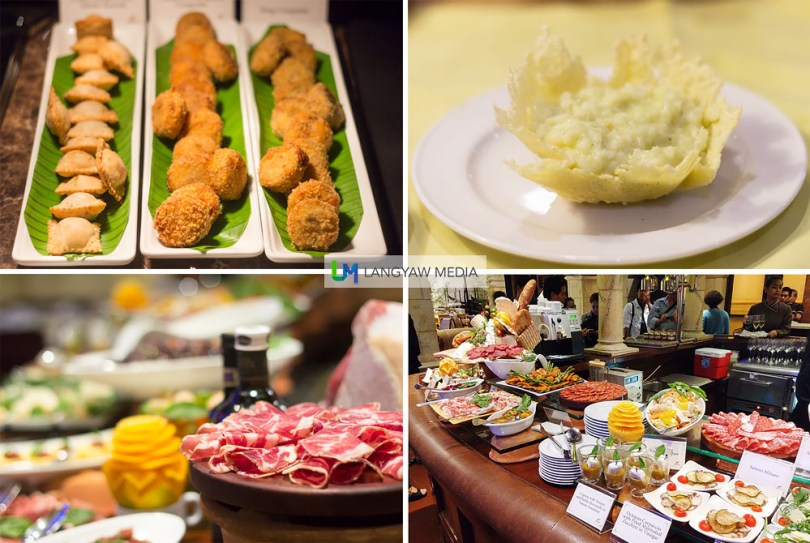 Fantastic antipasti, risotto and filled treats
