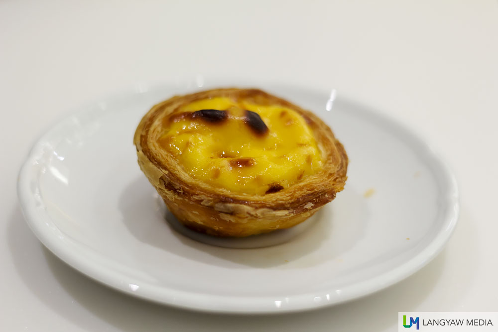 One of the best egg tart I've tasted