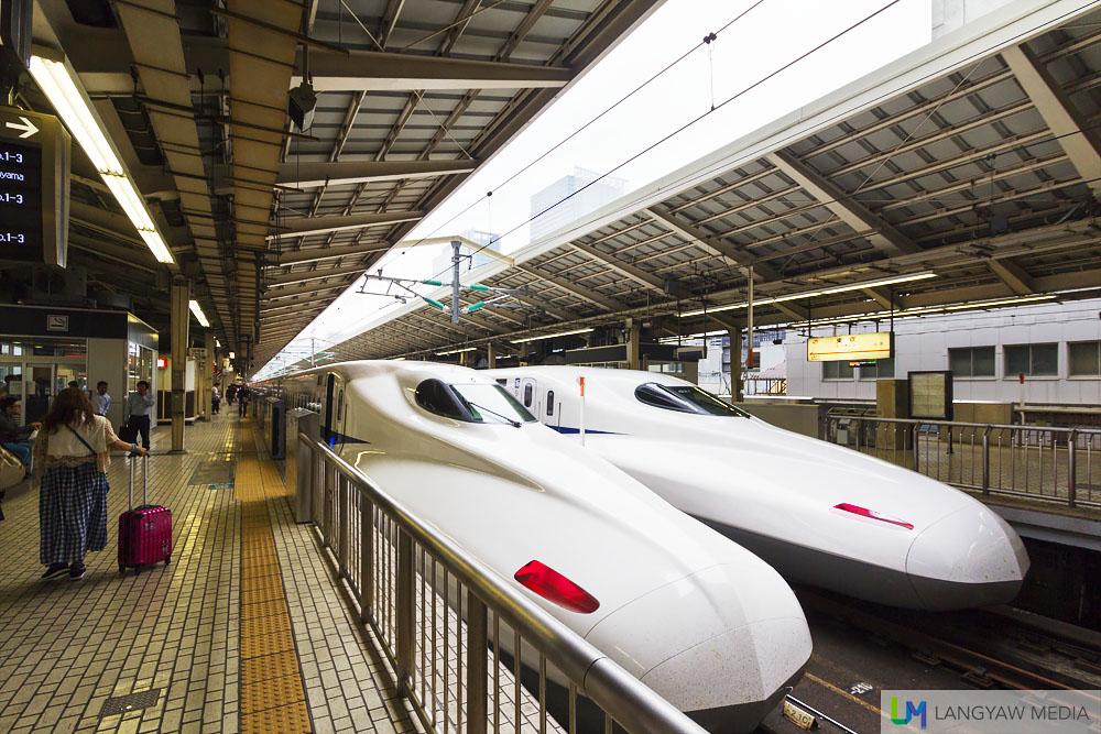 The Nozomi Shinkansen!