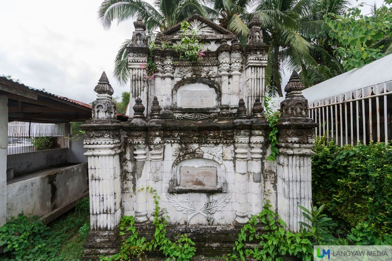 Perhaps, the only one of its kind in the Philippines, an ornate sepulcher.