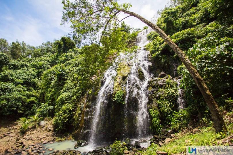 Cabunbata Falls in Isabela City, Basilan