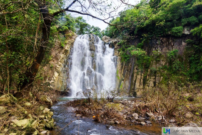 This sight just greets you when you come up face to face with Pantoc Falls in San Quintin, Abra