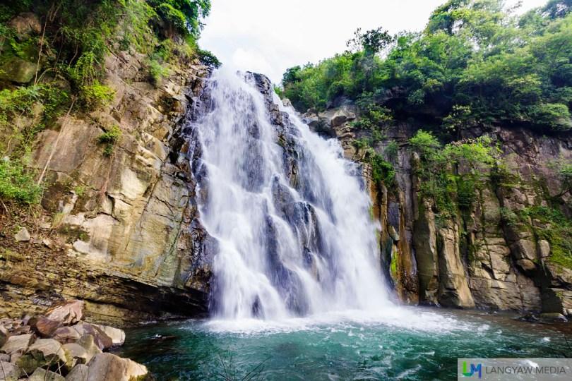 Majestic and beautiful, Pantoc Falls up close