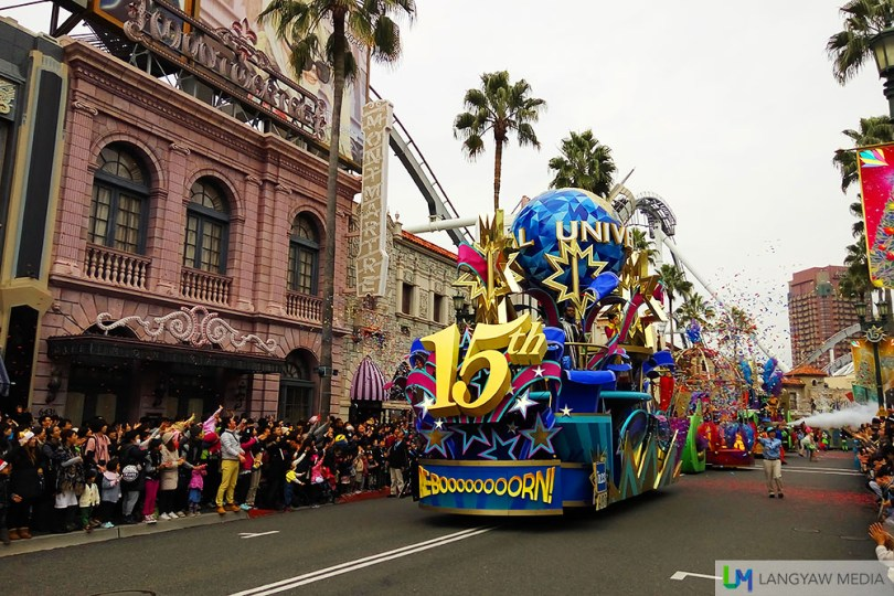 The ReboooRN Parade to celebrate the 15th anniversary of Universal Studios Japan