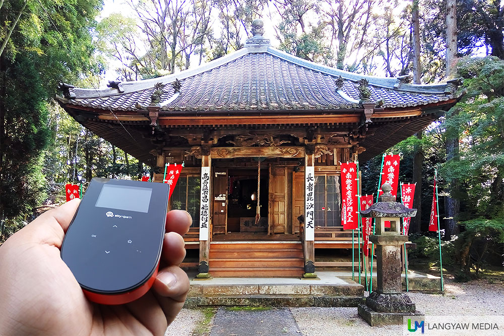 Skyroam, a reliable pocket wifi in Japan