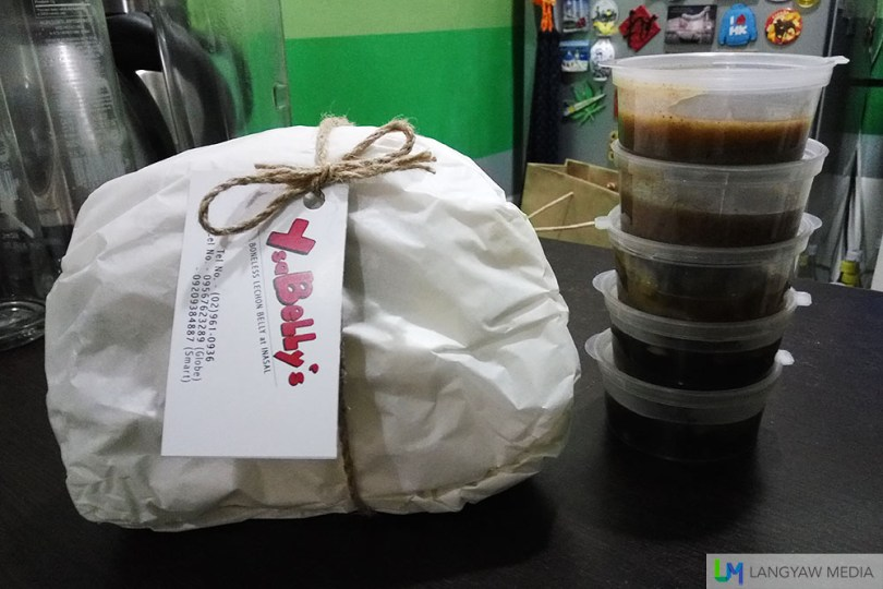 YsaBelly's lechon belly delivery