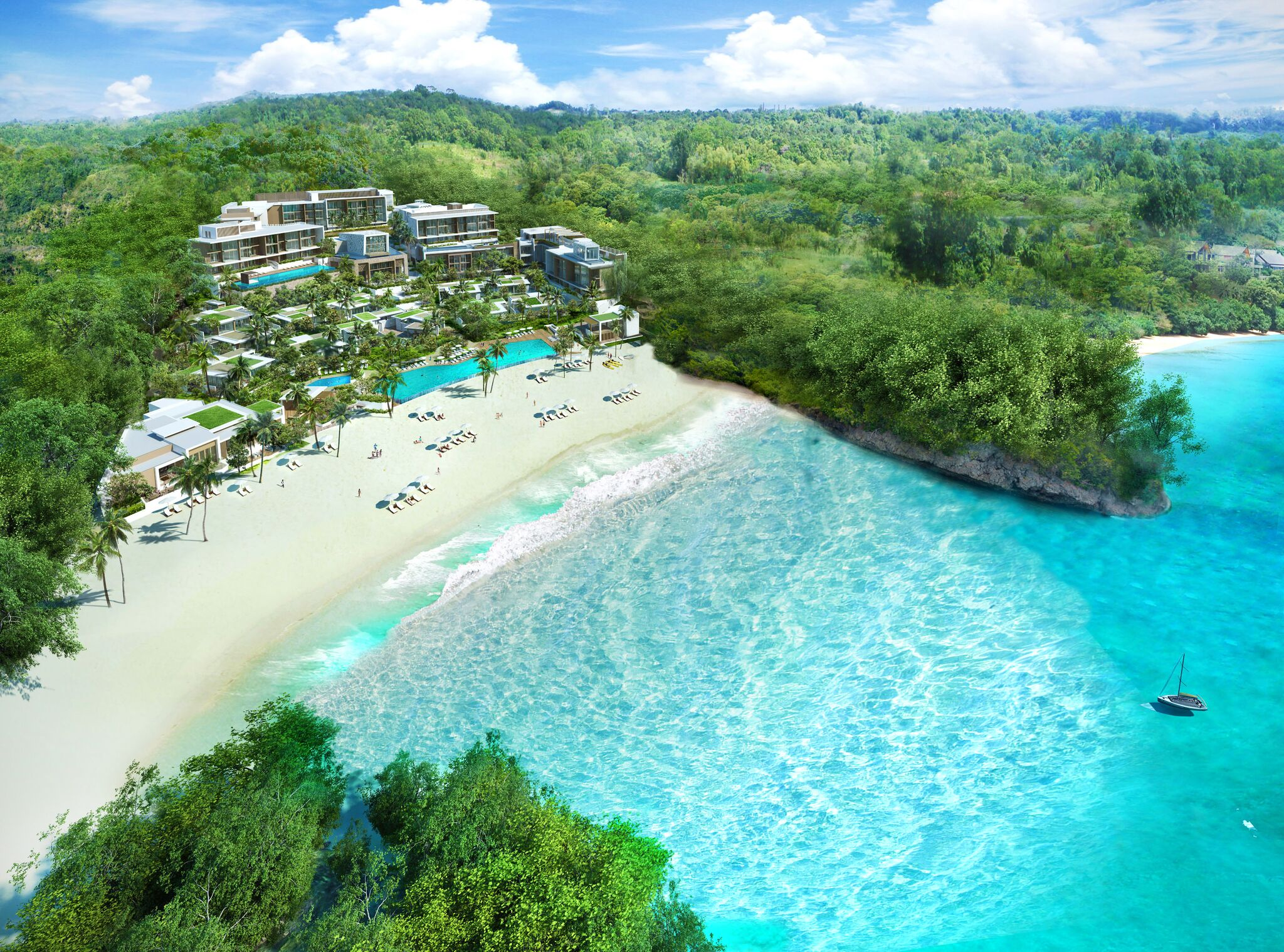 Perspective Aerial View_STATION ZERO Crimson Resort & Spa Boracay_preview