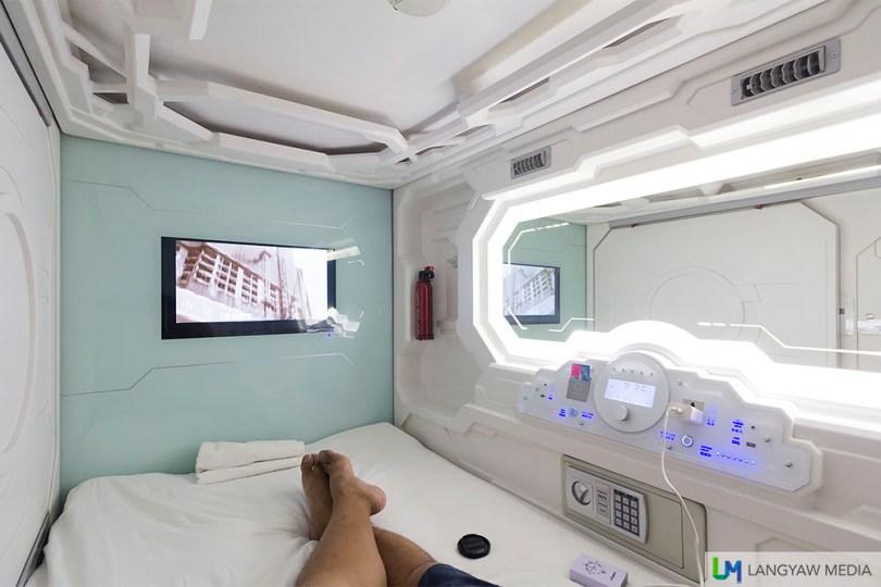 capsule hotel in kuala lumpur