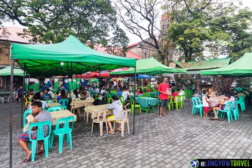 bibingka in Baliuag