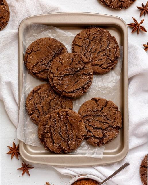garam masala gingerbread cookies