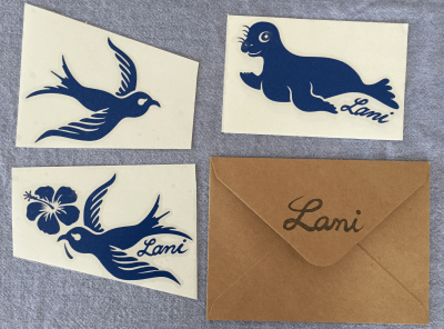 Surfboard Stickers – Lani's Original Design with Aloha