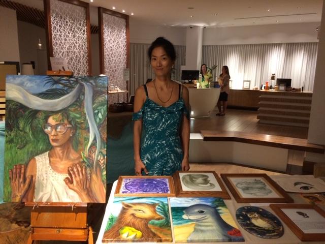 Hyatt Centric Waikiki Beach Art Show