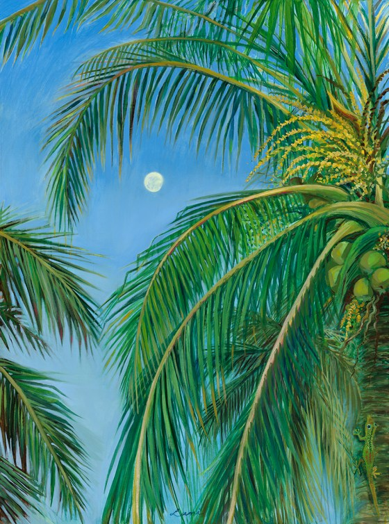 """New Arrivals """"HiLife"""", an oil painting series inspired by the beauty of Hawaiian Nature"""