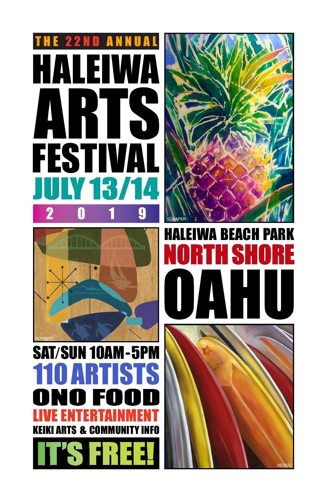 Haleiwa Arts Festival 2019