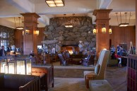 The Inn is famous for its lobby