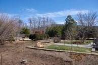 Arboretum flower beds