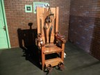 """Old Sparky"" - one of the main execution tools used at the prison."