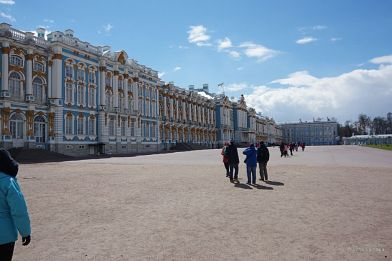 Catherine Summer Palace, front of the Palace