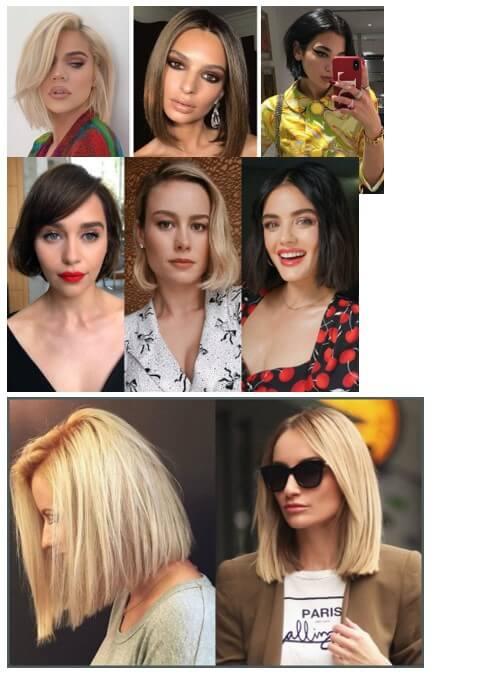 Sui capelli corti