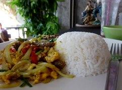 Indian curry @Baan Hom